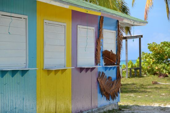 IFF Islands_Acklin and Crooked Island Colorful Buildings_Image_Bahamas.com