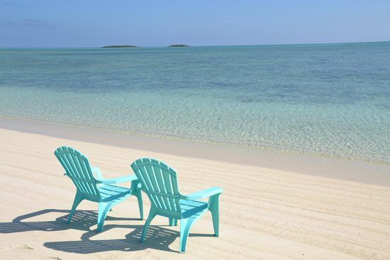 IFF Islands_Acklin and Crooked Island Beach Chairs on Shore_Image_Bahamas.com