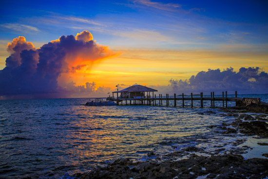 IFF Islands_Andros Island Sunset Beach Scene_Image_Bahamas.com